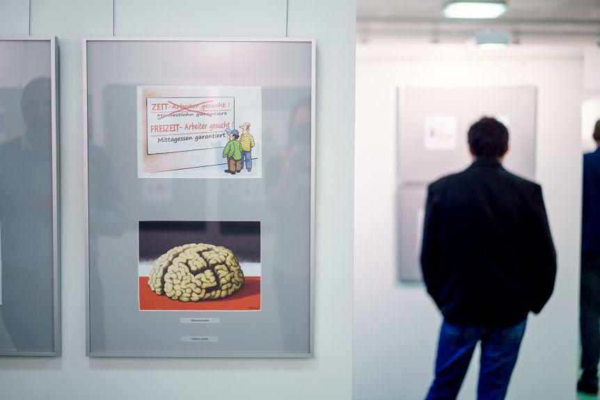 Deutscher Karikaturenpreis 2018 Haus der Presse Dresden