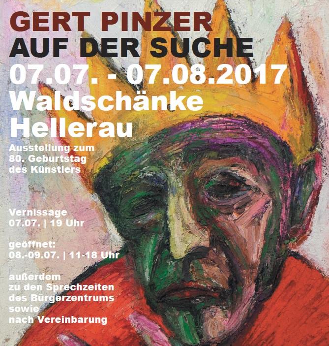 GERT PINZER - AUF DER SUCHE - Bürgerzentrum Waldschänke Hellerau ...