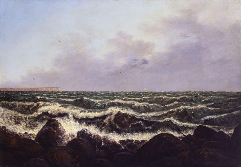 Carl Gustav Carus, Brandung bei Rügen, 1819