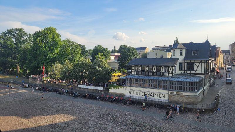 Schillergarten am Schillerplatz