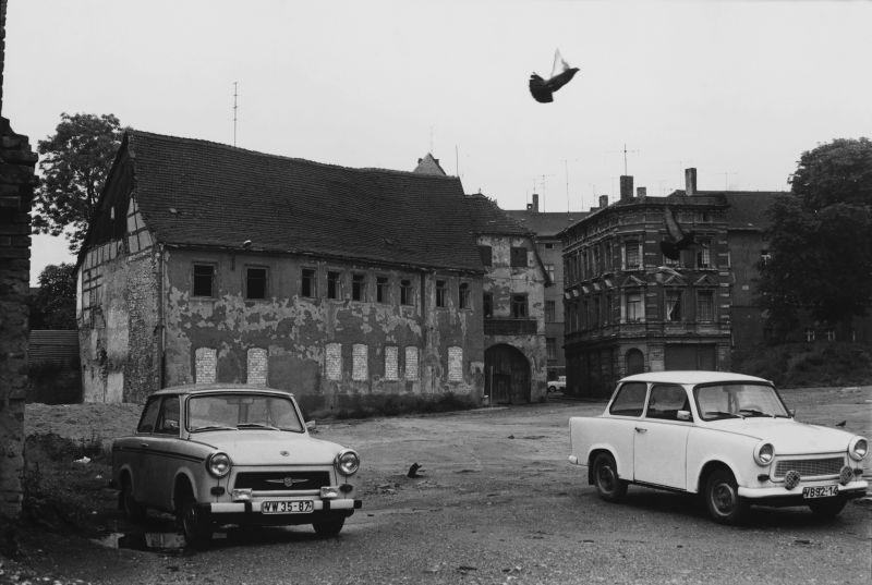 Häuser und Gesichter- Halle 1983–85