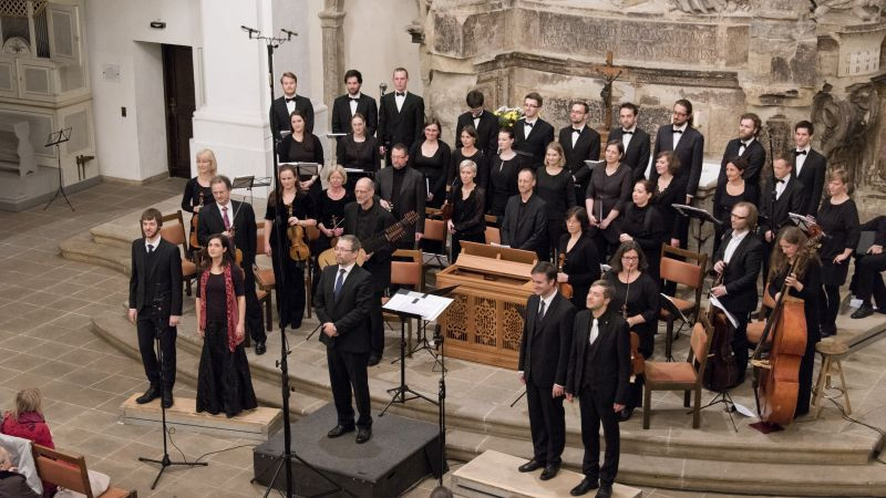 Batzdorfer Hofkapelle, Solisten & Sächsisches Vocalensemble
