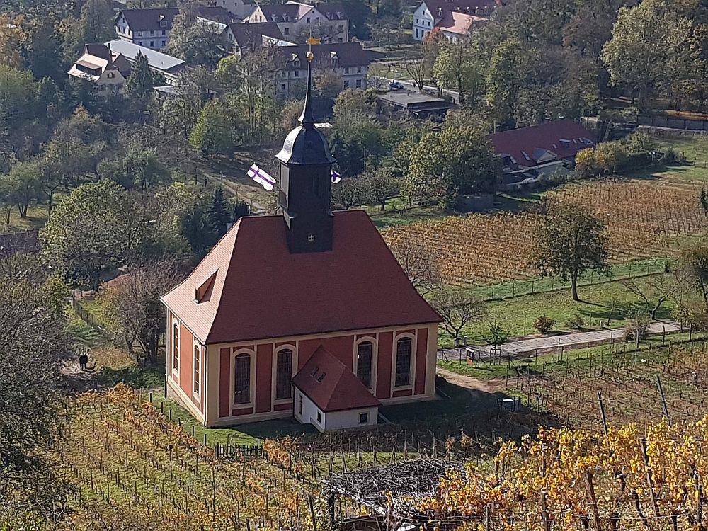 Weinbergkirche Pillnitz Rueckseite (c) BuK