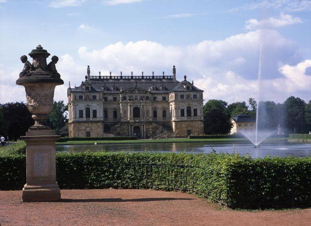Palais im Großen Garten (c) Schlösserland Sachsen