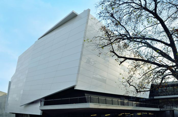 Hochschule für Musik Außenansicht (c) Luc Saalfeld