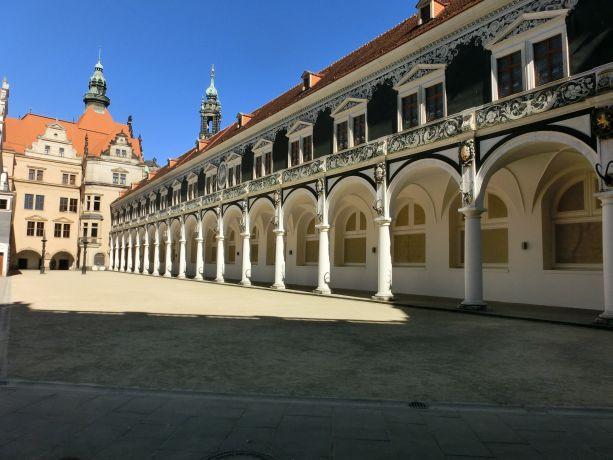 Stallhof am Residenzschloss Dresden