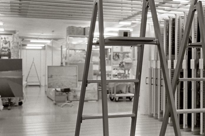 Blick ins Gemäldedepot des Kunstfonds (c) SKD Foto: Luc Saalfeld