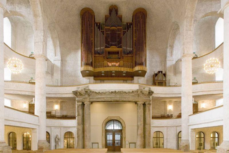 (c) Kreuzkirche Dresden Orgel